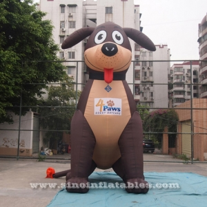 outdoor advertising big puppy inflatable dog