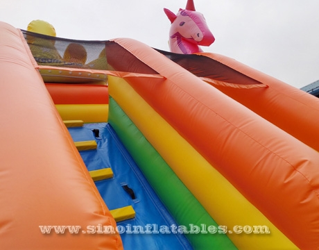 kids dream land carriage inflatable slide