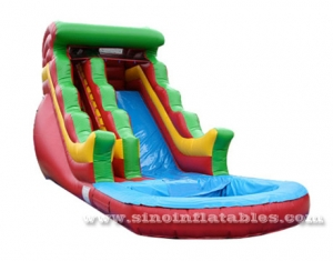 certificated lead free inflatable water slide clearance