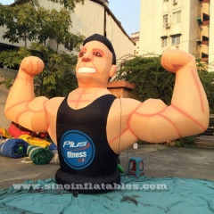 GYM inflatable fitness muscle man