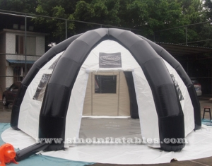 enclosed inflatable travel party tent