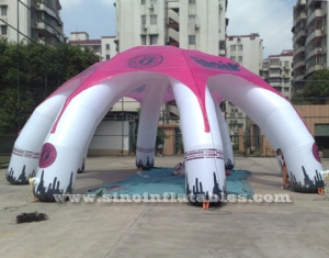 portable advertising inflatable spider tent