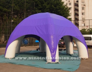 anytime fitness adverting inflatable spider tent