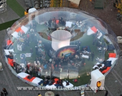 huge transparent inflatable bubble dome tent