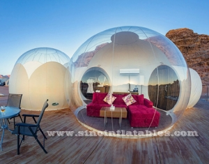 clear top logde inflatable bubble luxotel suite
