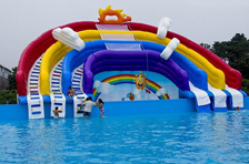 Are you ready to enjoy 2018 inflatable water park?