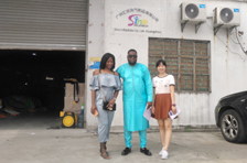 Customer from Mali have visited our factory and placed order.